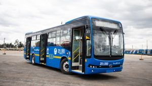 Novos ônibus possuem carregamento rápido