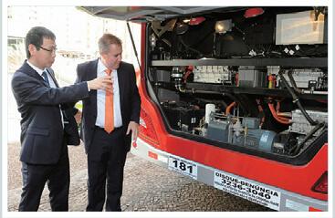 A maior produtora de veículos elétricos e híbridos do mundo.